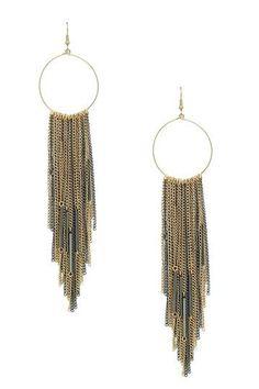 Chain Earrings.