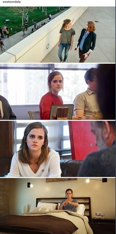 New stills of Emma Watson as 'Mae Holland' in The Circle (2017)