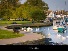Christchurch Quay, Dorset, England