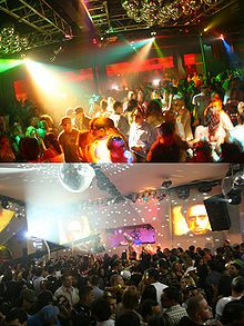 Park West is home to many large nightclubs, Downtown (Miami, Florida)