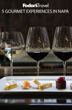 Some of the best food and wine in Napa can't be found at restaurants, but at wineries.