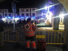 Servicio preventivo Varias Asambleas Locales y comarcales de Cruz Roja Bizkaia cubriendo las Cabalgatas de Reyes en varios municipios 06 de enero de 2015