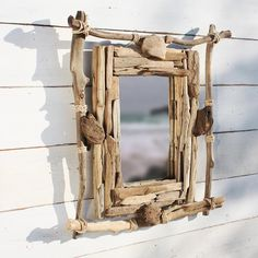 Castaway Driftwood Mirror | Coastal Mirror | Wall Mirror - buy the sea