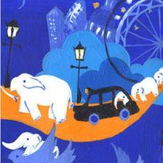 Elephant Parade by Vicky Scott
