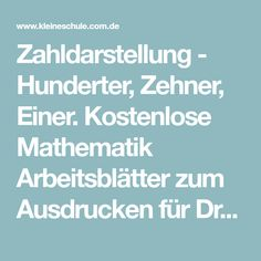 The 321 best Mathe-Arbeitsblätter images on Pinterest | Pre-school ...