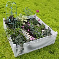 Fairy Gardening - White Picket Fence, $19.99 (http://store.fairygardening.com/white-picket-fence/)