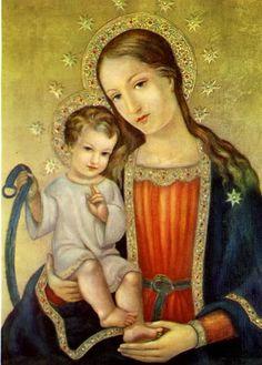 ♛ Vierge Marie