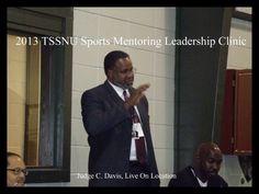 TSSNU Sports Mentoring Leadership Clinic 2013 with C. Davis, Celebrity Judge