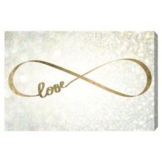 Oliver Gal Sparkle Love Canvas Art - 12556_15X10_CANV_XHD