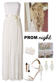 """""""Prom Night"""" by kotnourka ❤ liked on Polyvore featuring Raishma, Aquazzura, NEST Jewelry, Serpui and Forever 21"""