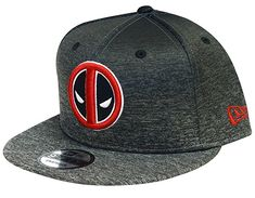 08ac2b42e6d6b Amazon.com - New Era Deadpool Shadow Fade Gray Snapback Hat