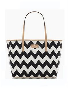 Kate Spade New York South of The Border Chevron Harmony Tote