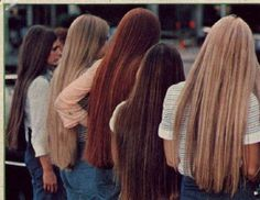 God - all that 70s long flat hair that had to be ironed! Not invented by Gwynneth Paltrow after all.