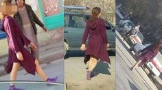 """In many cities around the world, this image of a young woman dressed in a long coat with her hair tied back would be unremarkable. In Kabul, it has sparked a sensation -- or a scandal, depending on who you ask. The unknown woman's bare legs attracted the attention of local journalist Hayat Ensafi, who told the BBC his images have since been discussed by thousands of Afghanis, shocked by what they've seen. """"I was shocked,"""" he said."""