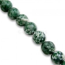 Tree Agate Stone Beads - 8mm   Price : $3.99