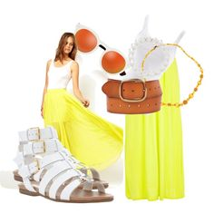 Inspired outfit so cute for a picnic date, add a touch of blossom scent and it completes the feeling. Picnic Date, Shoe Bag, Polyvore, Stuff To Buy, Shopping, Collection, Design, Women, Fashion