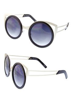 Cat Eye Cut Out Shades - Jewelry Buzz Box  - 2