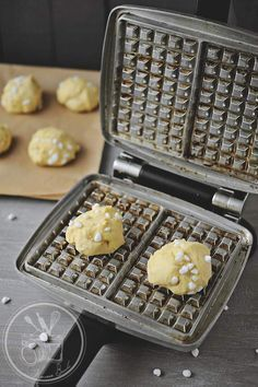 Gaufres liegeoises – Amuses bouche Gaufres liegeoises – Amuses bouche,Anne Sophie Gaufres liegeoises Plus Related posts:Items similar to Rocking Bench / Wood Rocking Chair / Log Rocking Chair / Rustic Cabin Decor / Cabin. Cooking Chef, Cooking Recipes, Breakfast Recipes, Dessert Recipes, Desserts With Biscuits, Pancakes And Waffles, Waffle Iron, Quick Easy Meals, Love Food