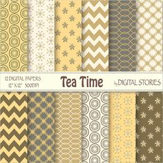 Tea Time Chevron Mustard Digital Paper Pack BUY by DigitalStories  https://www.etsy.com/listing/127861977/tea-time-chevron-mustard-digital-paper?ref=shop_home_active_14