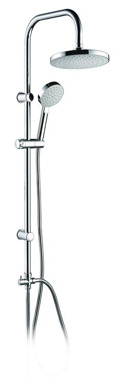 Usually Ships in 1-3 DAYS with UPS, FedEx or USPS Shower Colum Lago Collection: • Shower tube in Stainless steel • Wall brackets Chromed ABS • Hand shower holder in Chromed ABS • Minimalistic diverter