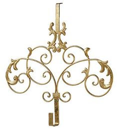 What One Customer Said After Receiving Her Gold Ornate Wreath Hanger: This  Item Arrived Exactly