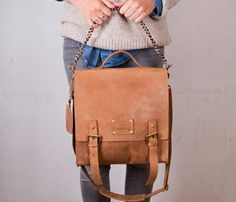 Leather Frankie Fierce Bag Uncovet