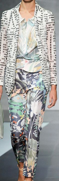 SPRING 2014 READY-TO-WEAR Emporio Armani  | The House of Beccaria
