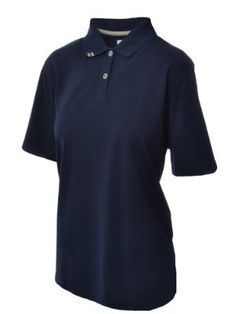 Ashworth Womens Golf Polo Shirt - Navy Blue - 10 by Ashworth. $23.99. Synonymous with Golf, the Ashworth Clothing Range will be ideal for the golfer who favours quality and style. 97% Cotton ~ 3% Spandex. Short sleeve design minimises restriction whilst maximising freedom of movement. Classic polo shirt design with collar and 6 button placket. Look like a true professional with this stylish and comfortable design. Ashworth is and always has been a different breed of golf compa...