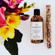 Wildflower Body Oil - Bulgarian Rose Oil
