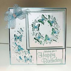 Butterfly Cards, Flower Cards, Chloes Creative Cards, Stamps By Chloe, Crafters Companion Cards, Birthday Cards For Women, Friendship Cards, Card Making Techniques, Pretty Cards