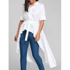 GET $50 NOW | Join Dresslily: Get YOUR $50 NOW!https://m.dresslily.com/high-low-belted-shirt-dress-product2464997.html?seid=79fhSIOvpOUblSn0httEEMl9EK