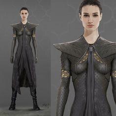 ArtStation - Fantasy Costume Designs, Xander Smith
