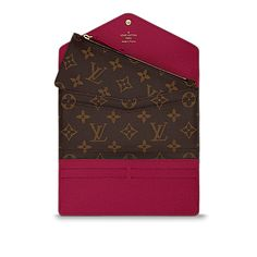 Joséphine Wallet Monogram Canvas in Women's Small Leather Goods Wallets collections by Louis Vuitton