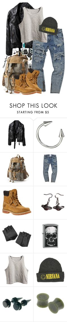 """I'm Not Gonna Crack"" by bipolarbabe ❤ liked on Polyvore featuring Luv Aj, Timberland, Karl Lagerfeld, Zippo and Alessi"