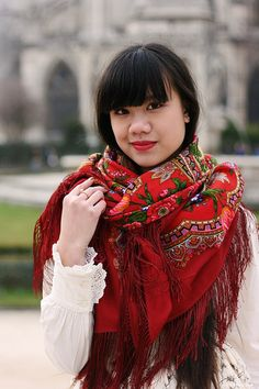 Comtesse Sofia scarves and shawls Lolita style | Flickr - Photo Sharing!