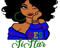 Check out our order of the eastern star selection for the very best in unique or custom, handmade pieces from our shops. Star Images, Star Pictures, Daughters Of Isis, Black Art Painting, Star Clothing, Eastern Star, Divine Light, Star Girl, African American Art