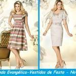 Vestidos da moda evangélica 2012-lindos modelos