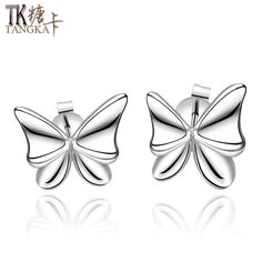 TANGKA 2017 new products popular in Europe and the United States fashion jewelry exquisite ladies bow earrings high-end jewelry