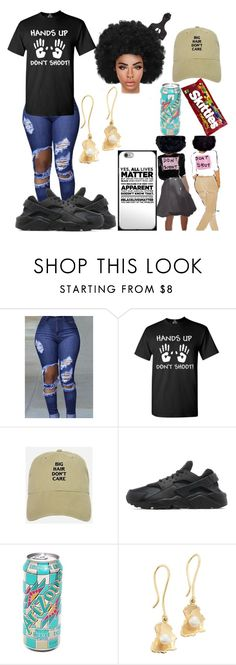 """No Justice No Peace"" by preachersdaughter99 ❤ liked on Polyvore featuring NIKE, Miss Selfridge, NoJusticeNoPeace and BlackLivesMatter"