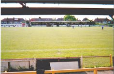 A view of the seated stand from the covered terrace.