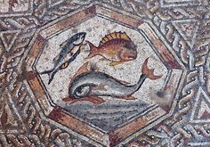 İsrail Roma mozaik