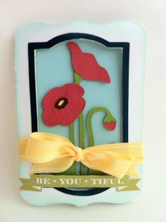 card made using the Creative Cards cartridge.
