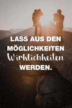 Visual Statements Let out of the possibilities Power-Mantras // Motivation für 2019 Motivational Pictures, Motivational Quotes, Letters Of Note, German Quotes, Gulzar Quotes, Quotation Marks, Getting Up Early, Life Plan, Visual Statements