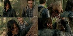 "The Walking Dead 5x15 ""Try"" Daryl Dixon and Aaron"