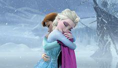 Je t'aime tellement ! 💙❄ #sistersforever #frozen #Iloveyou
