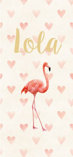 GIRL • LOVELY FLAMINGO