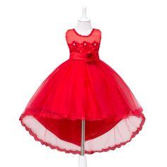 Encontrar Más Vestidos Información acerca de Vestido de partido de la muchacha…