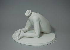 Alessandro Boezio's ceramic hybrid bodies are not of this world.