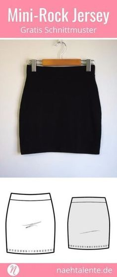 Slinky-Rock für Damen Free Pattern Mini Skirt for Women in Gr. Easy for beginners ✂️ Sewing talents – The magazine for hobby cutters ✂️ Free sewing pattern for a woman mini skirt in size XS – XL. Easy for beginners. PDF pattern for print at home. Womens Skirt Pattern, Skirt Patterns Sewing, Free Sewing, Knitting Patterns Free, Free Pattern, Pattern Skirt, Pattern Sewing, Skirt Sewing, Clothes Crafts