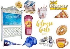 Hey, I found this really awesome Etsy listing at https://www.etsy.com/listing/509907880/watercolor-gilmore-girls-part1-clipart